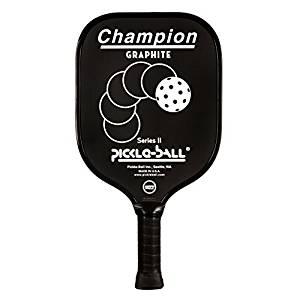 Pickleball Champion Graphite Paddle Vintage Style