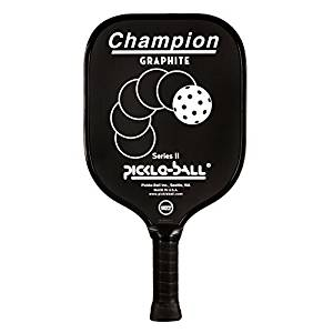 Pickleball Champion Graphite Paddle Vintage Style