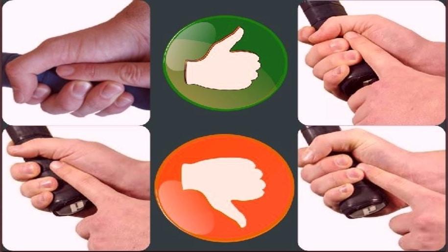 pickleball paddle grip test