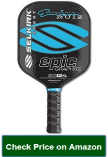 Selkirk Sports 30P XL Enrique Signature Epic 7.8oz Polymer Graphite Pickleball Paddle