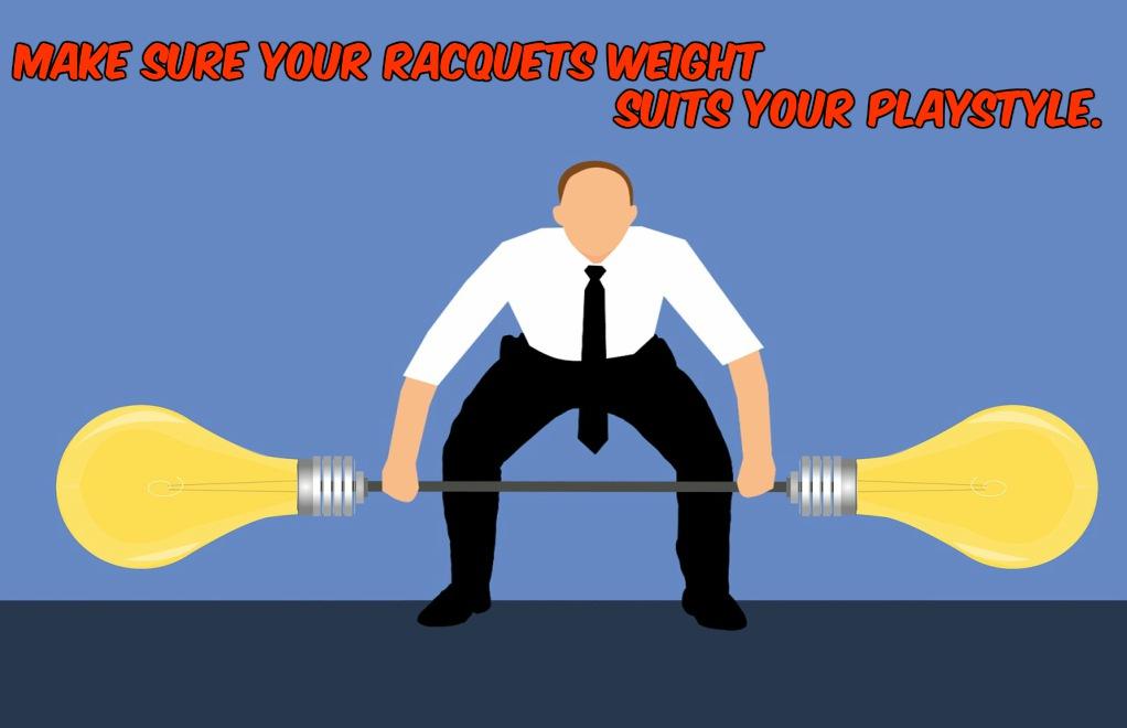 racquetball racquet weight