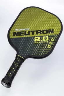 Neutron 2.0 pickleball paddle by gamma sports
