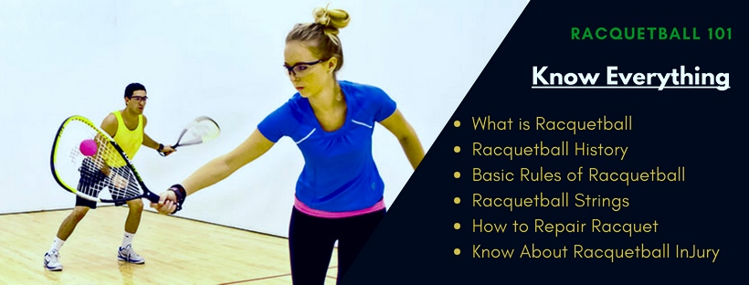 what is racquetball, racquetball history, racuqtball strings, racquetball injury, racquetball basic rules