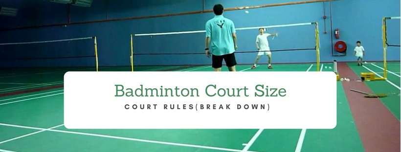 Badminton court rules and dimensions
