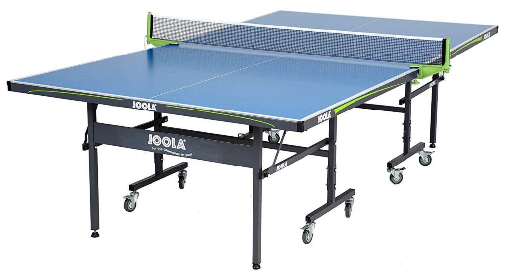 Joola Outdoor Aluminum Ping Pong Table with Net Set