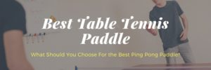 What is The Best Ping Pong Paddle For Me in 2020?